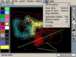 Allegro Sprite Editor