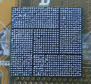 Bga balls stuck on chip after placing 0.5mmBall.png