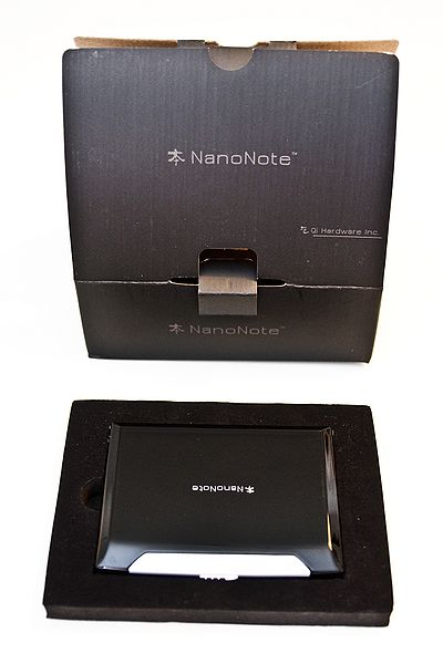 Ben NanoNote packaging